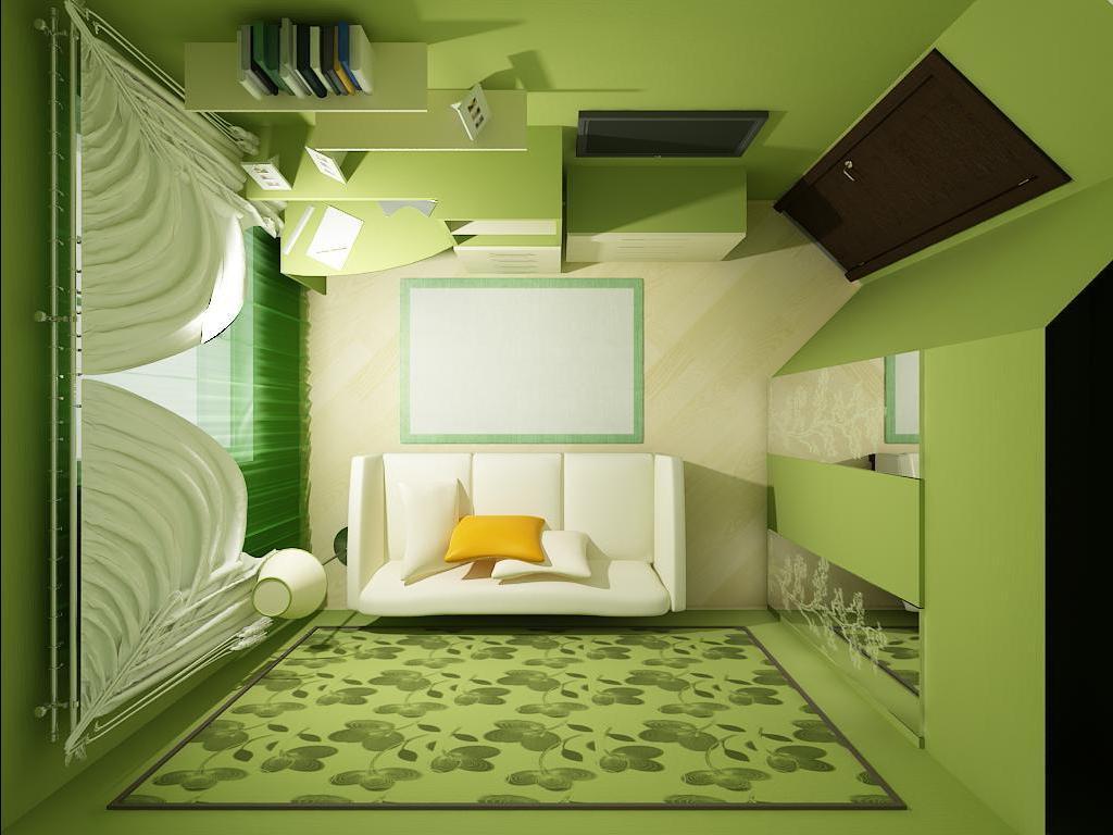 Как сделать дизайн маленькой комнаты