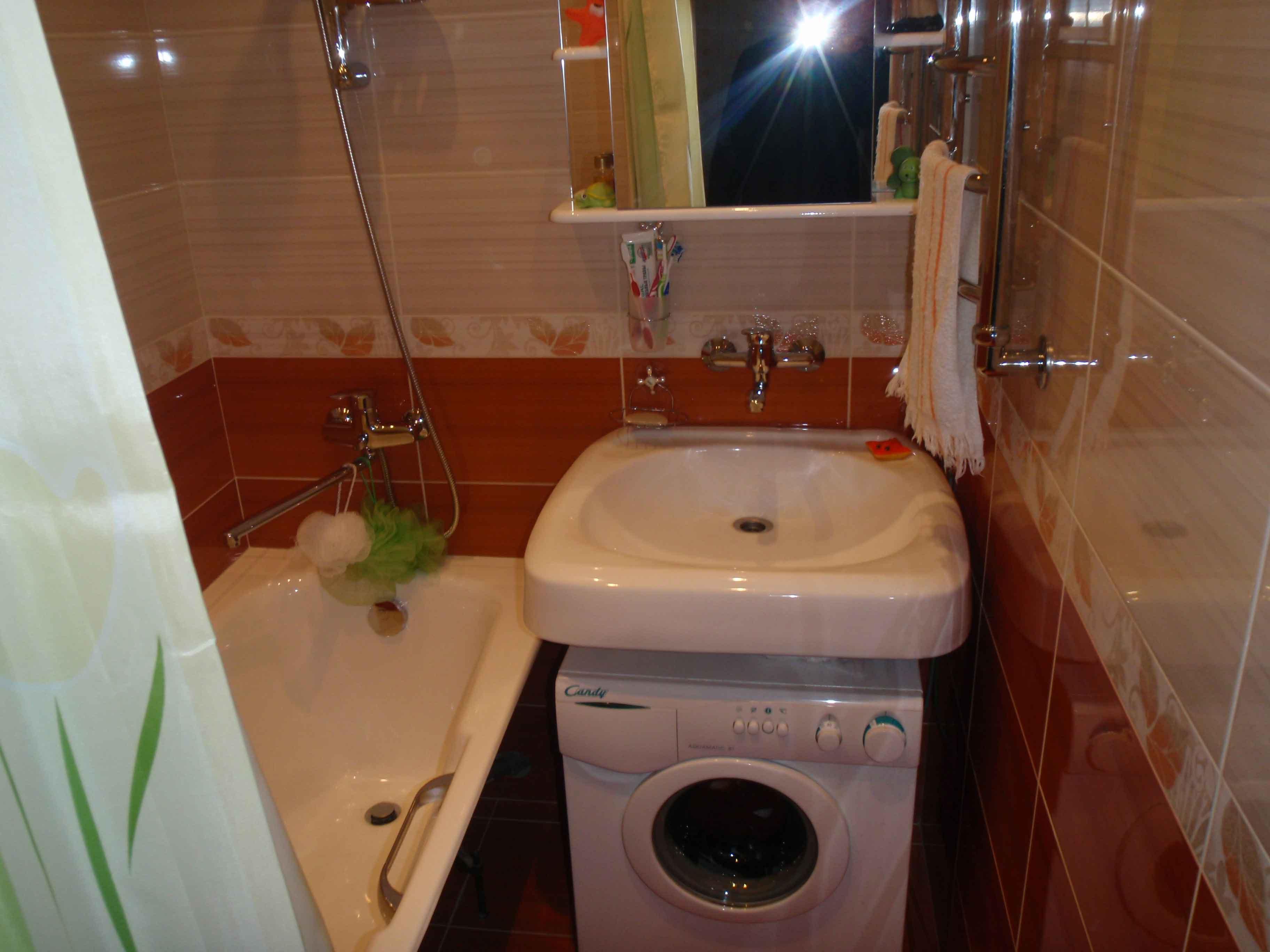 Ванная в хрущевке дизайн реальные