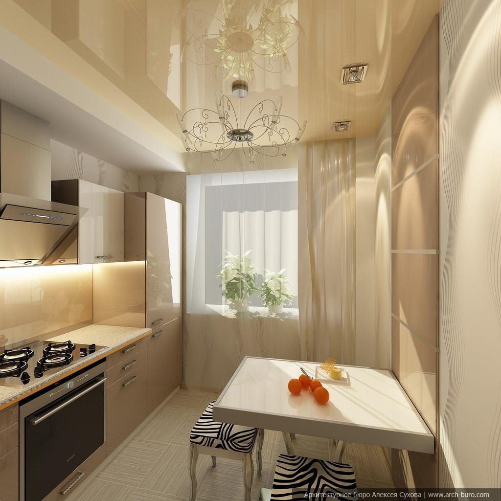 Кухни дизайн малогабаритных квартир