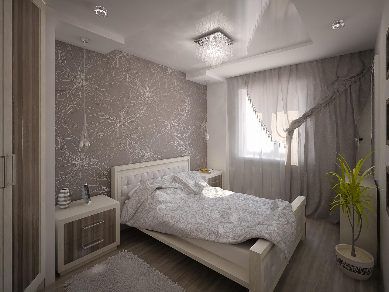Фото ремонта спальни комнаты