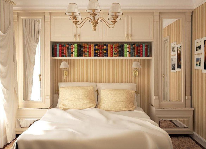 Маленькие спальни дизайн 12 кв