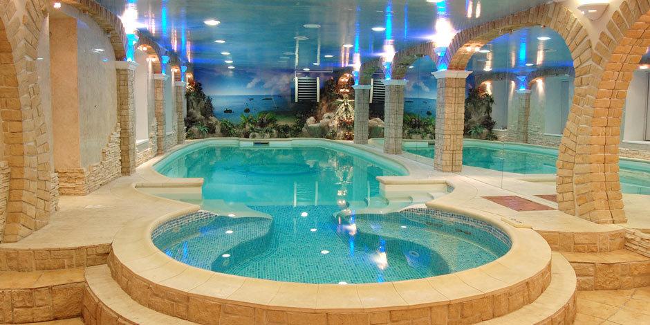 Фото дизайн саун с бассейном