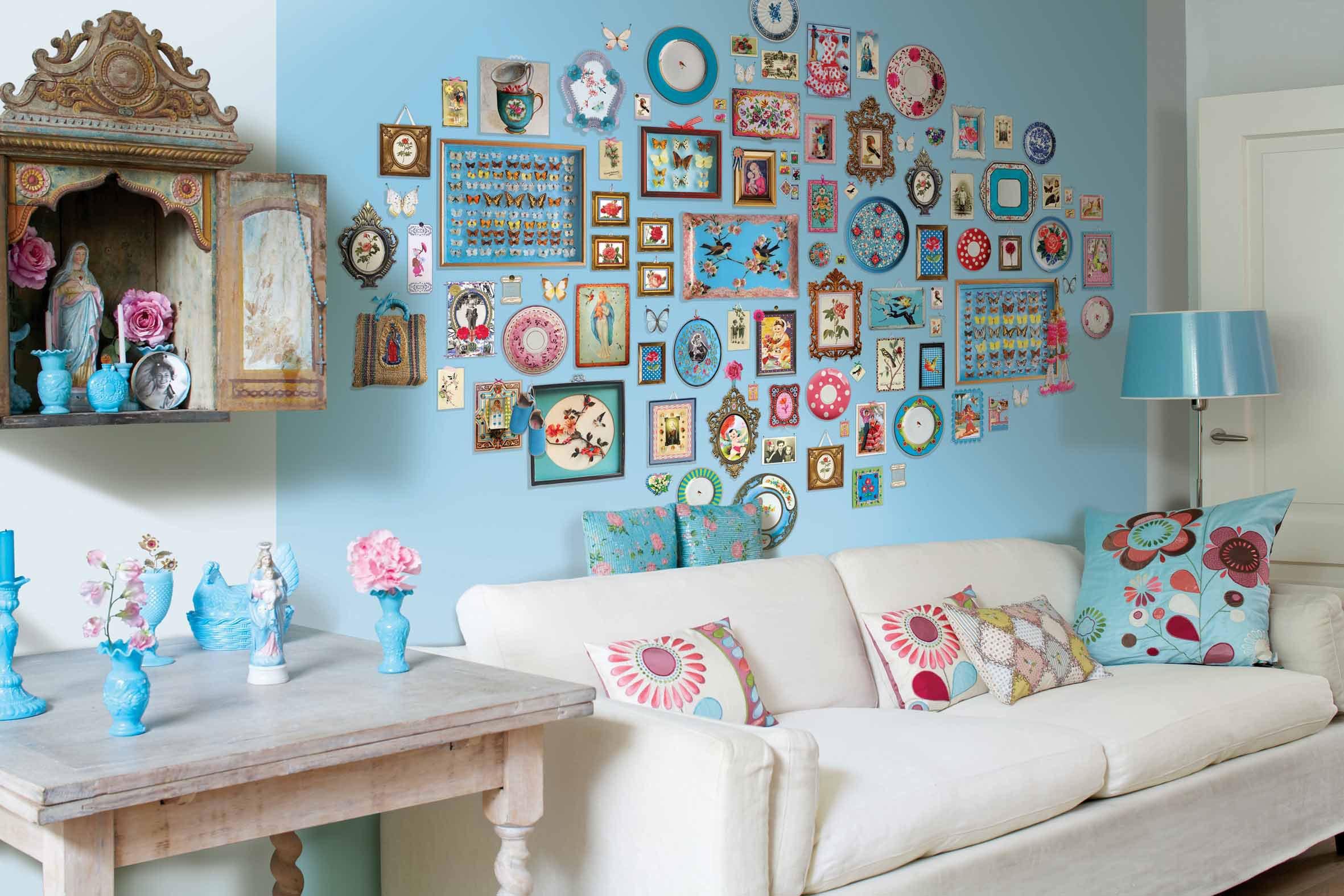 Украсить дома стены