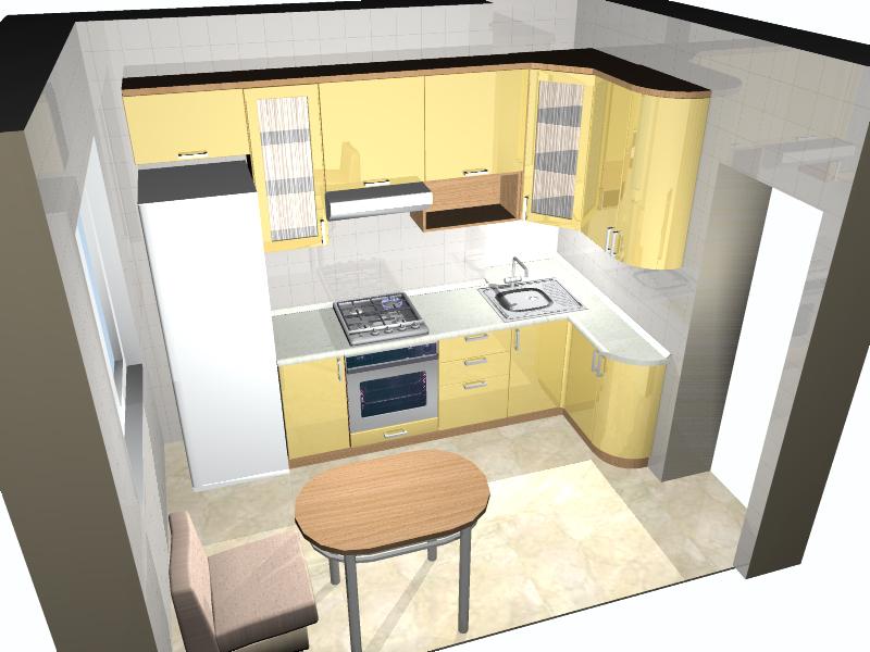 Как сделать самостоятельно дизайн проект кухни
