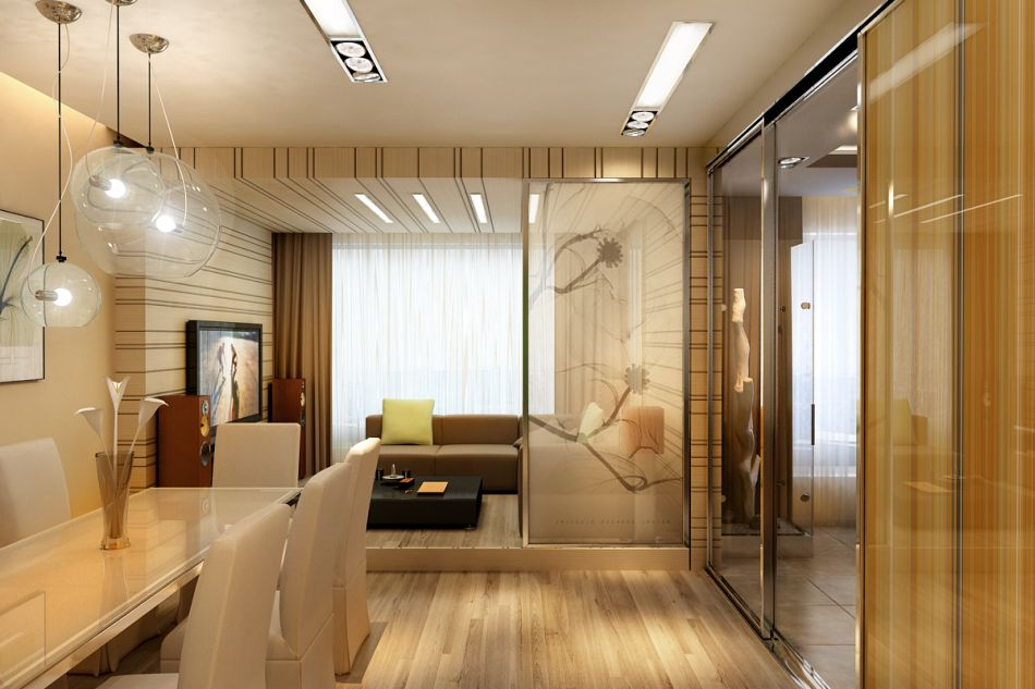 Проекты дизайна интерьера двухкомнатной квартиры