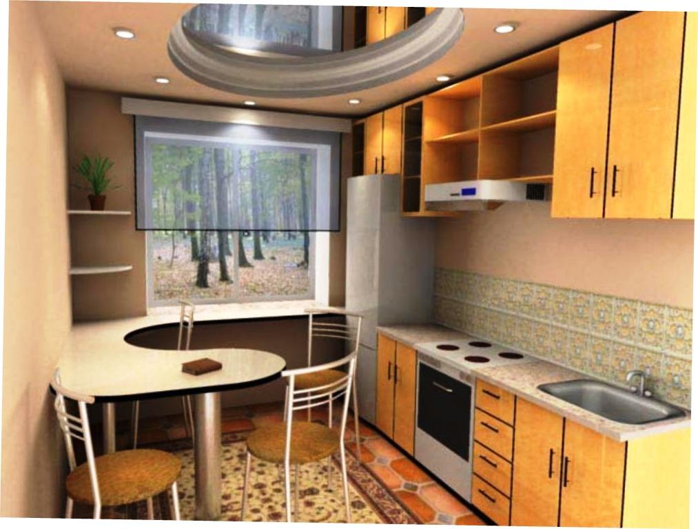 Ремонт своими руками на кухне 6 метров