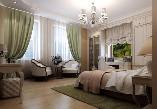 Фото дизайна спальни в загородном доме