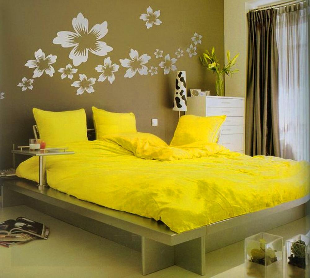 Декорации для спальни своими руками