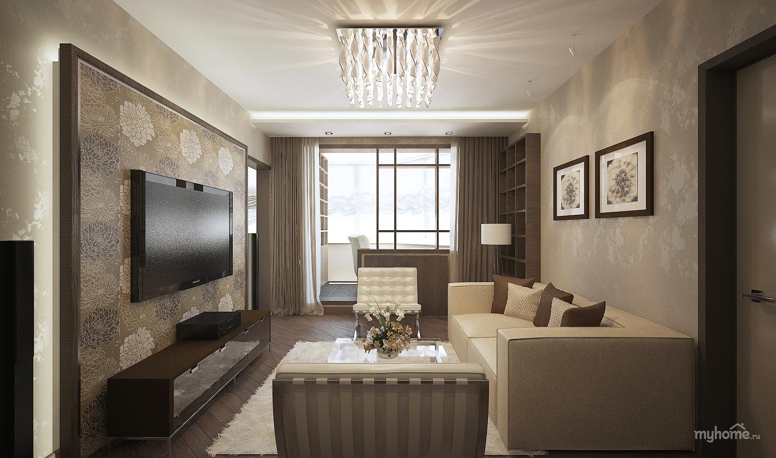 Дизайны трехкомнатной квартиры в дом