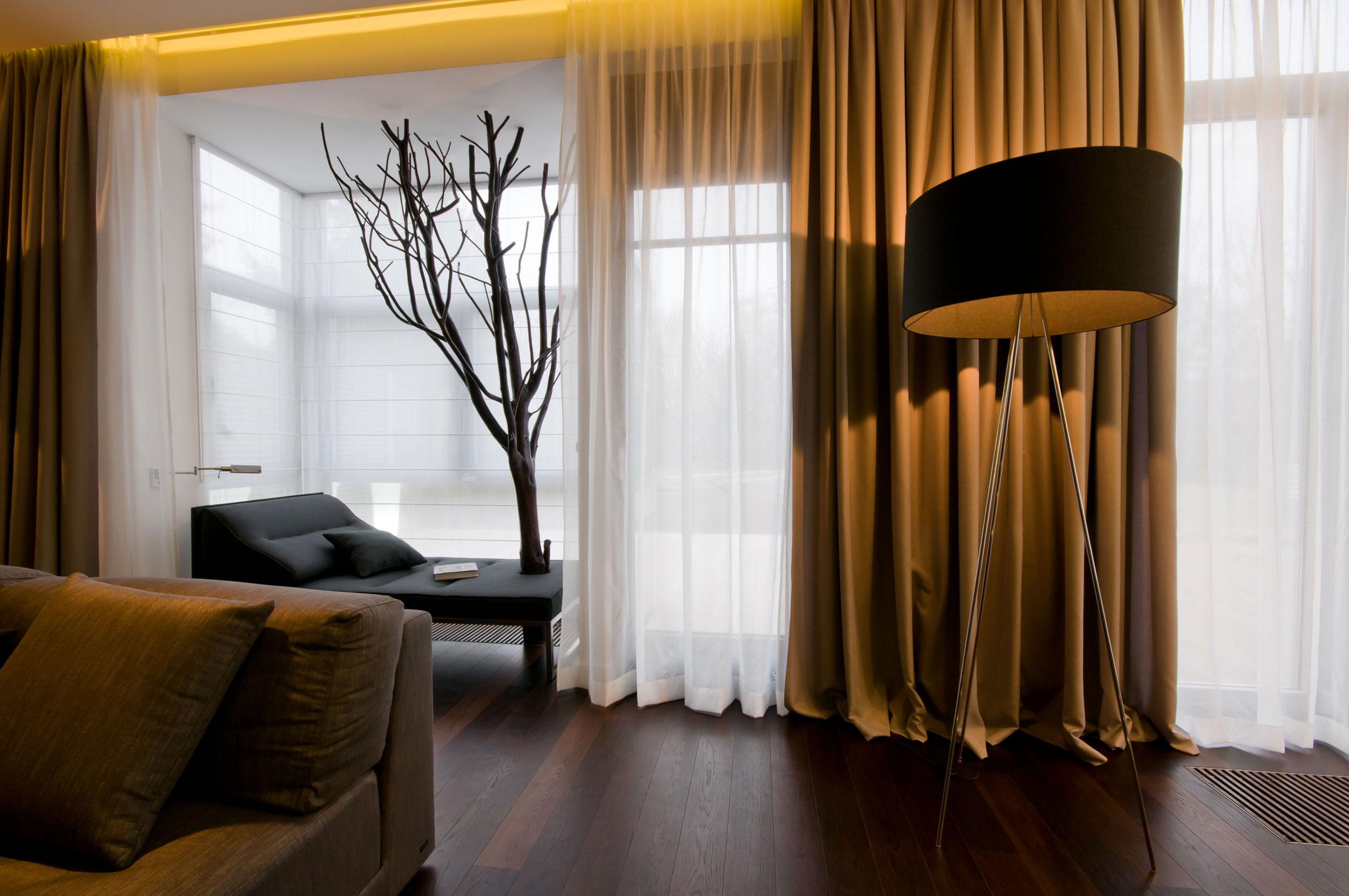 Дизайн шторы в интерьере