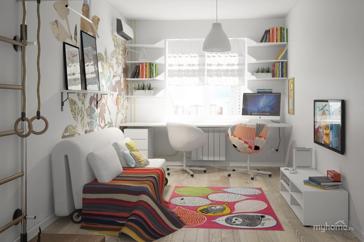 Дизайн с мебелью из икеа