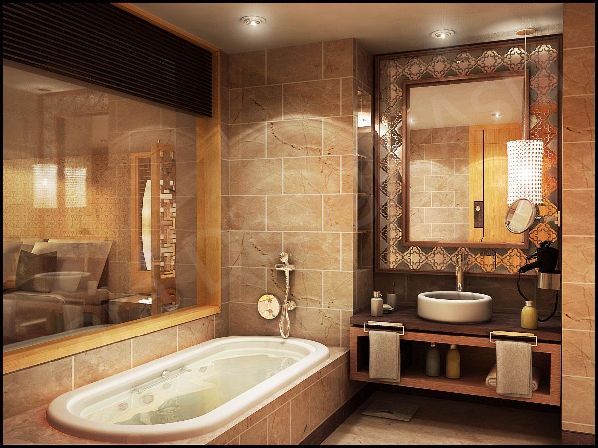 Идеи для ванной комнаты в квартире фото с декоративной штукатуркой