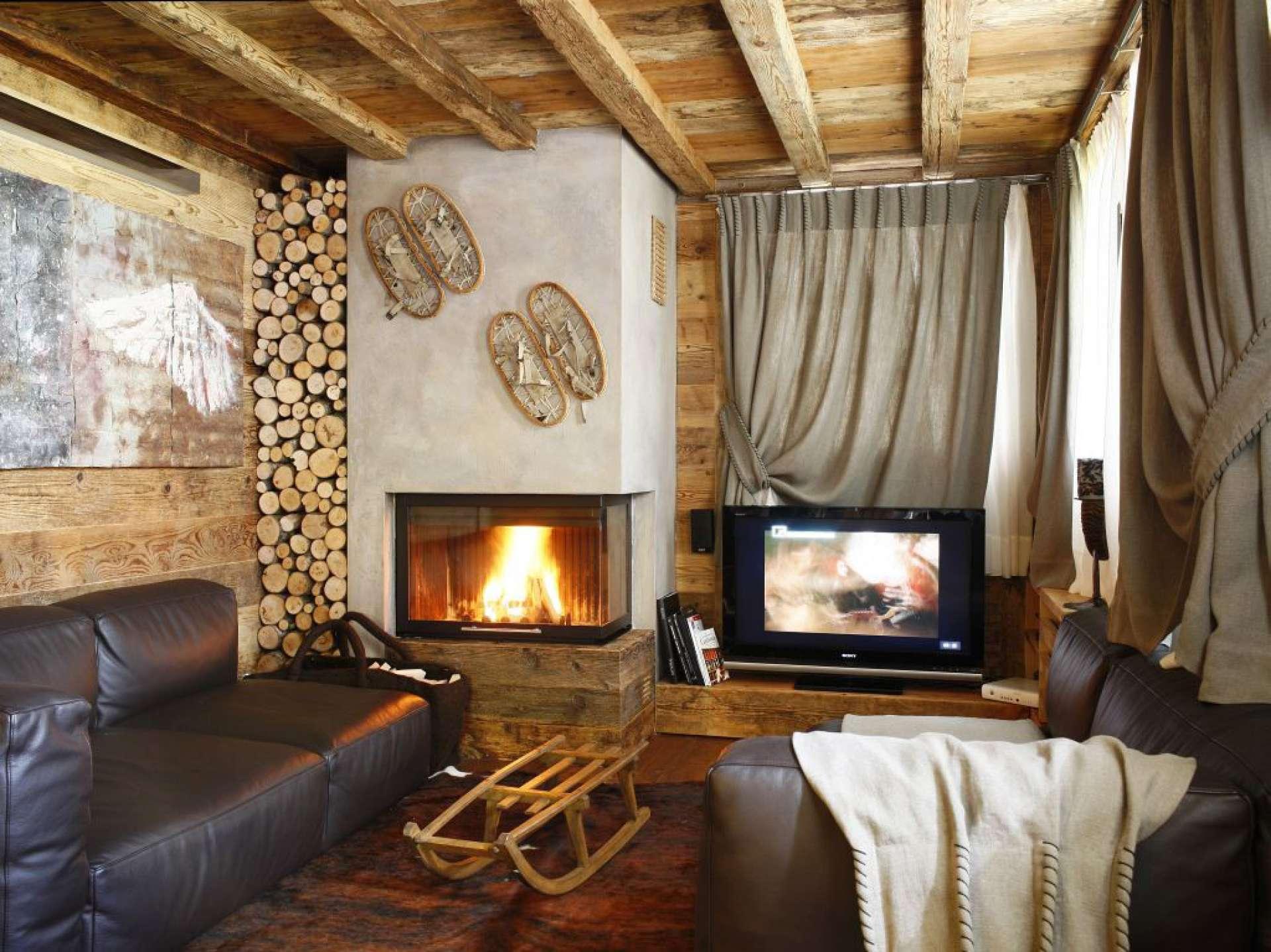 Дизайн интерьер сельский дом