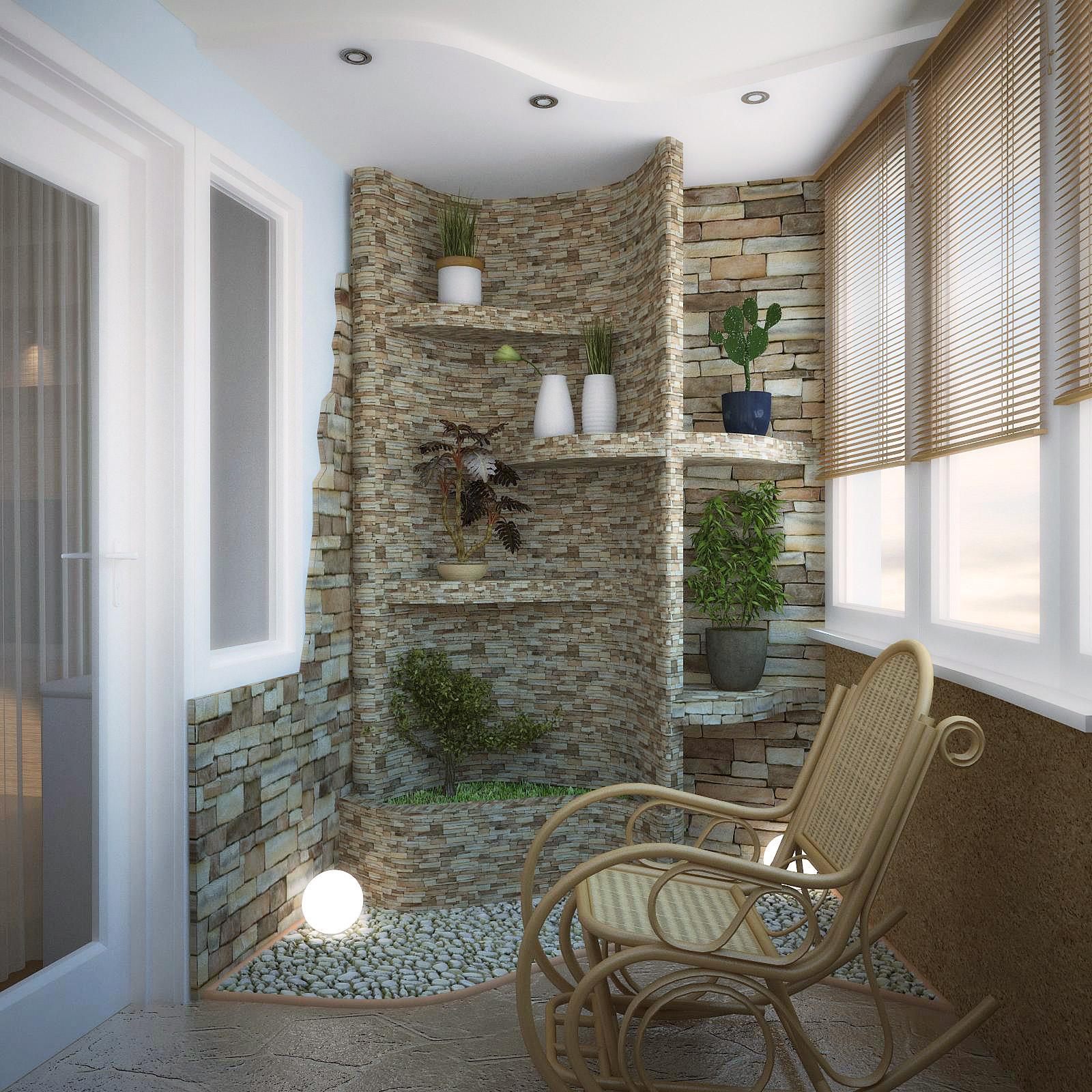 Удачное оформление лоджии в квартире, фото примеры обустройс.
