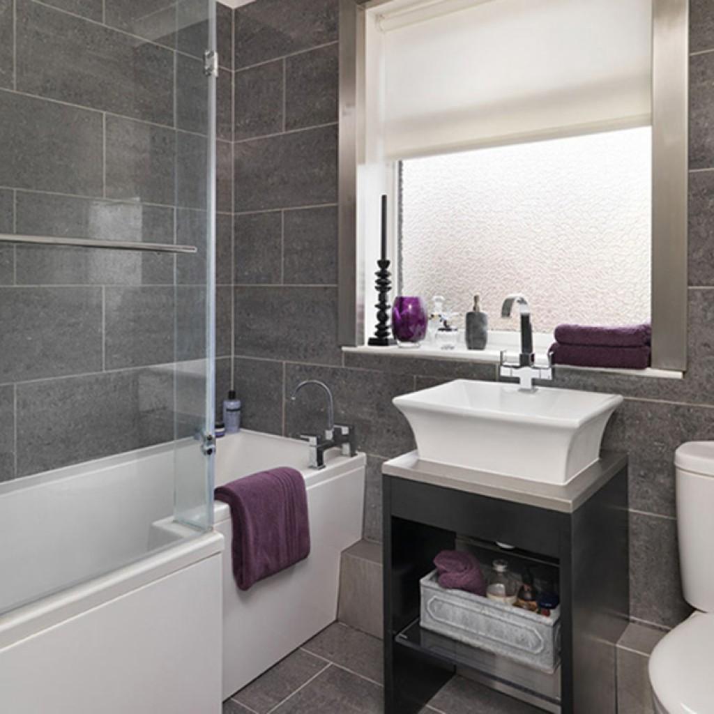 Интерьер ванной комнаты фото 2017