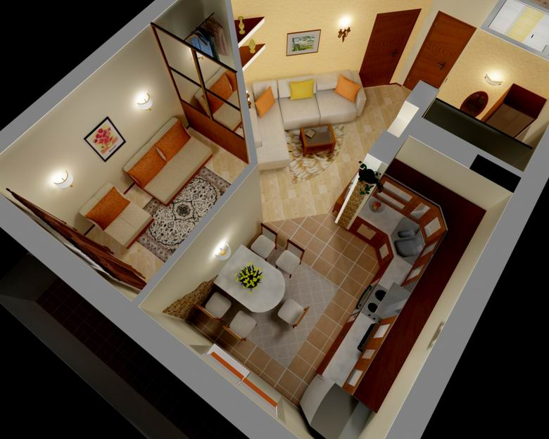 Как из однокомнатной квартиры сделать 2-х комнатную