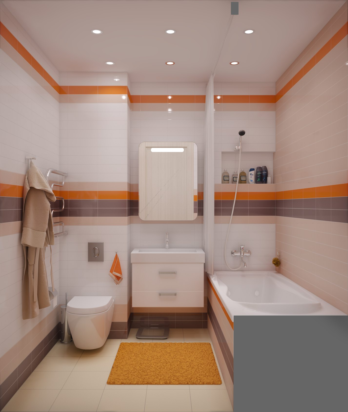 Ремонт ванной комнаты совмещенной