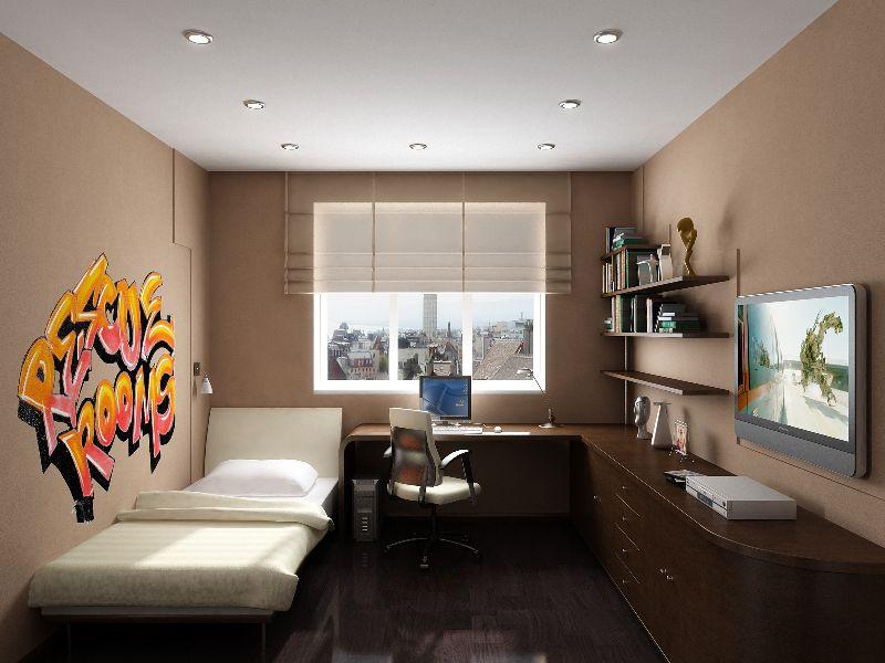 Ремонт комнаты для подростка мальчика