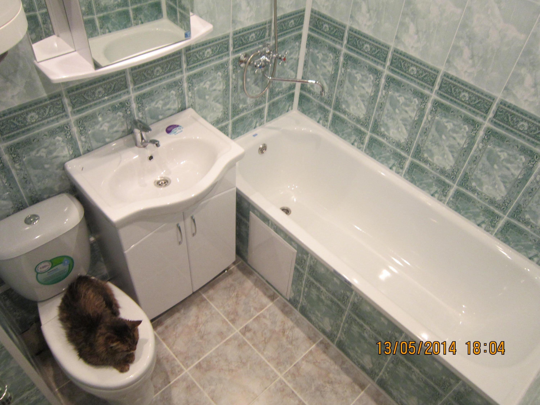 Отделка ванны панелями пвх  видео