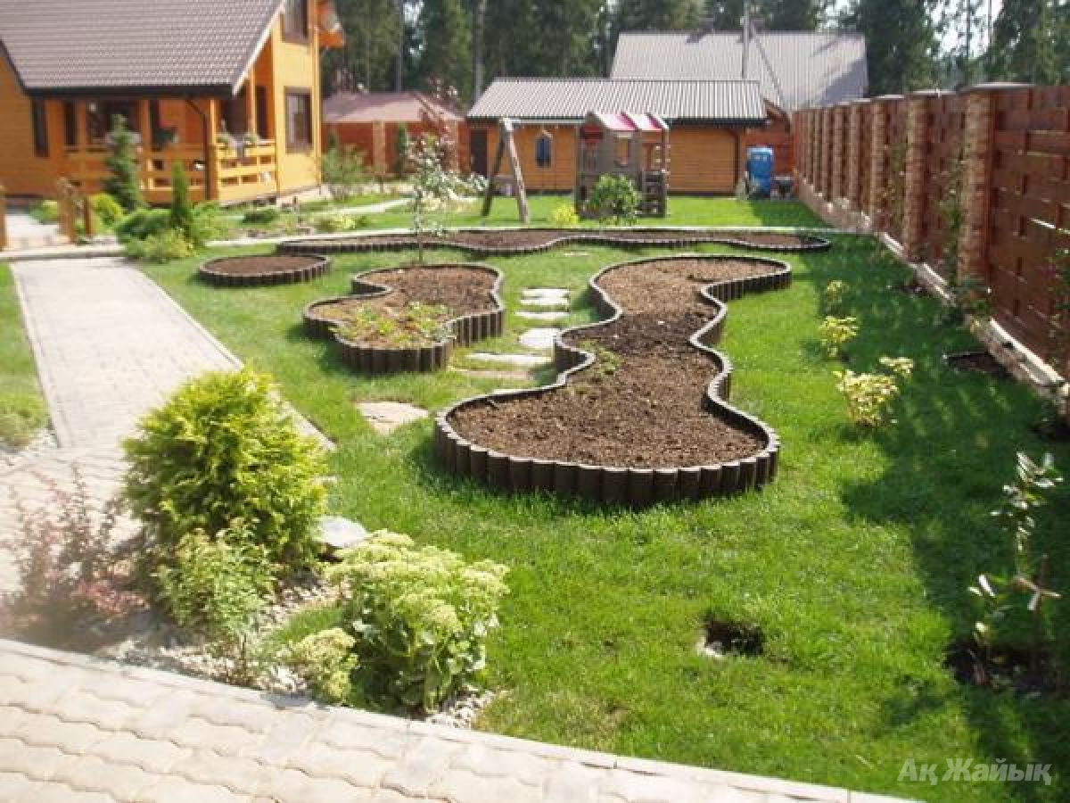 Дизайн территории на даче