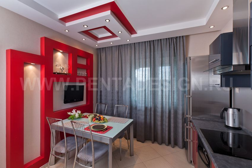 Дизайн проекты ремонта 2 комнатной квартиры.