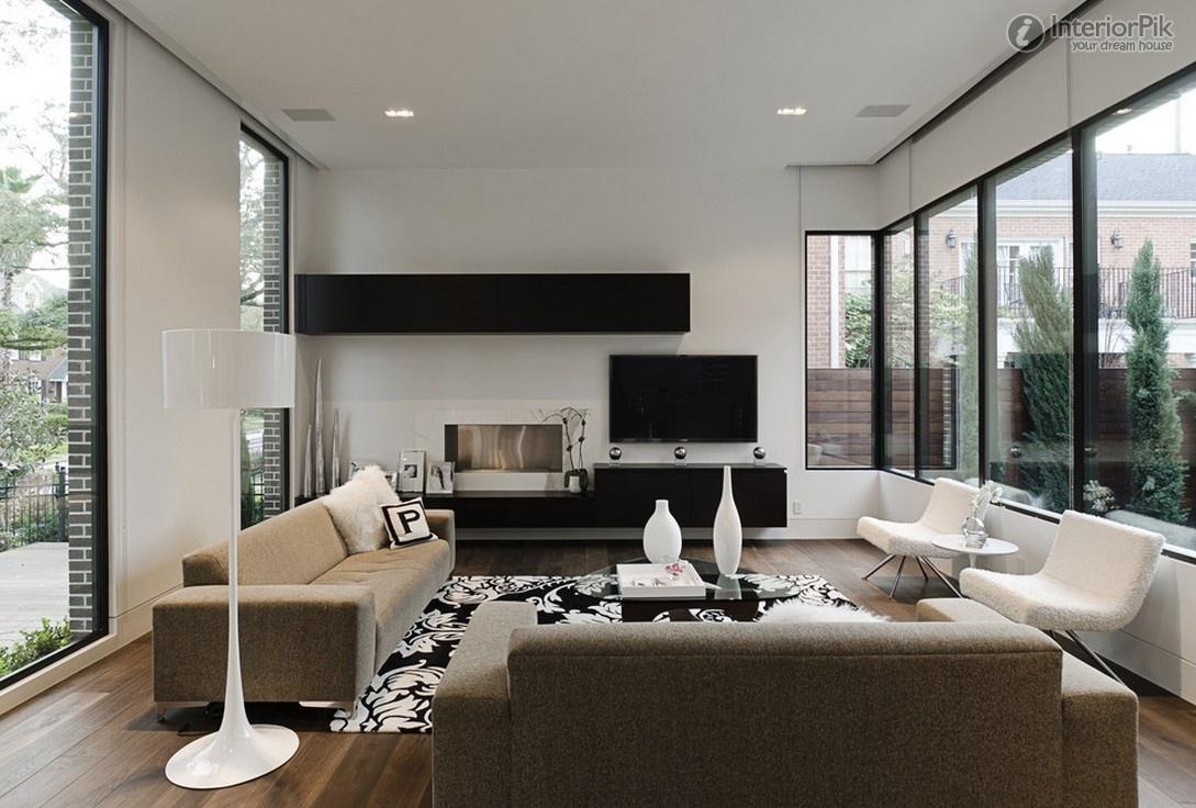 Дизайн гостиной дома фото 2016 современные идеи