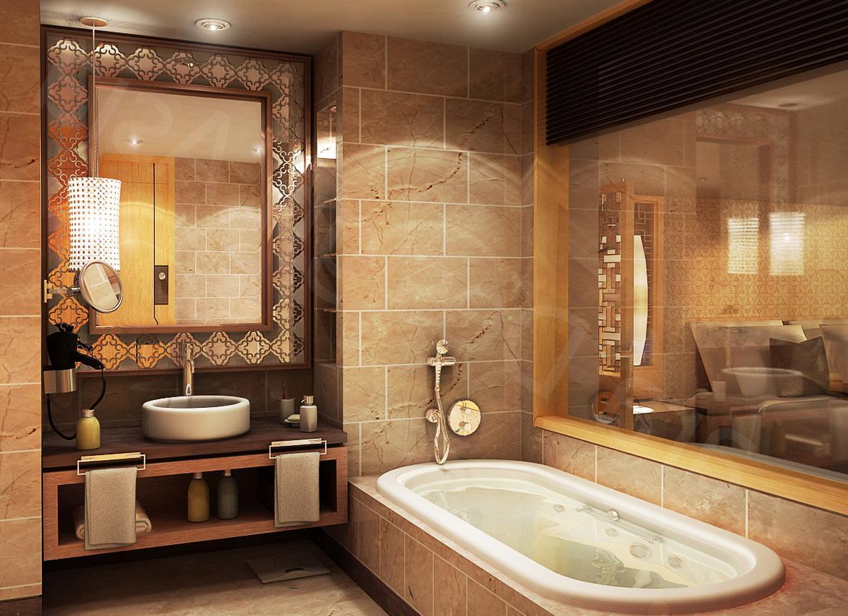 Как оформить дизайн в ванной комнате