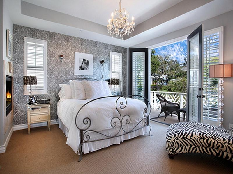 Дизайны спальных комнат в домах
