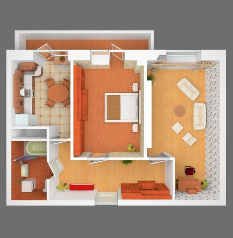 Дизайн квартир двухкомнатных квартир 65 кв.м