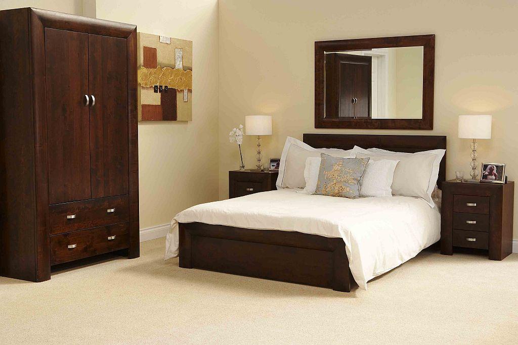 Black king size bedroom sets