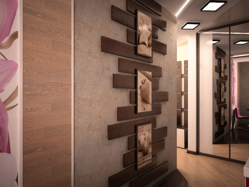 Дизайн для прихожей в панельном доме