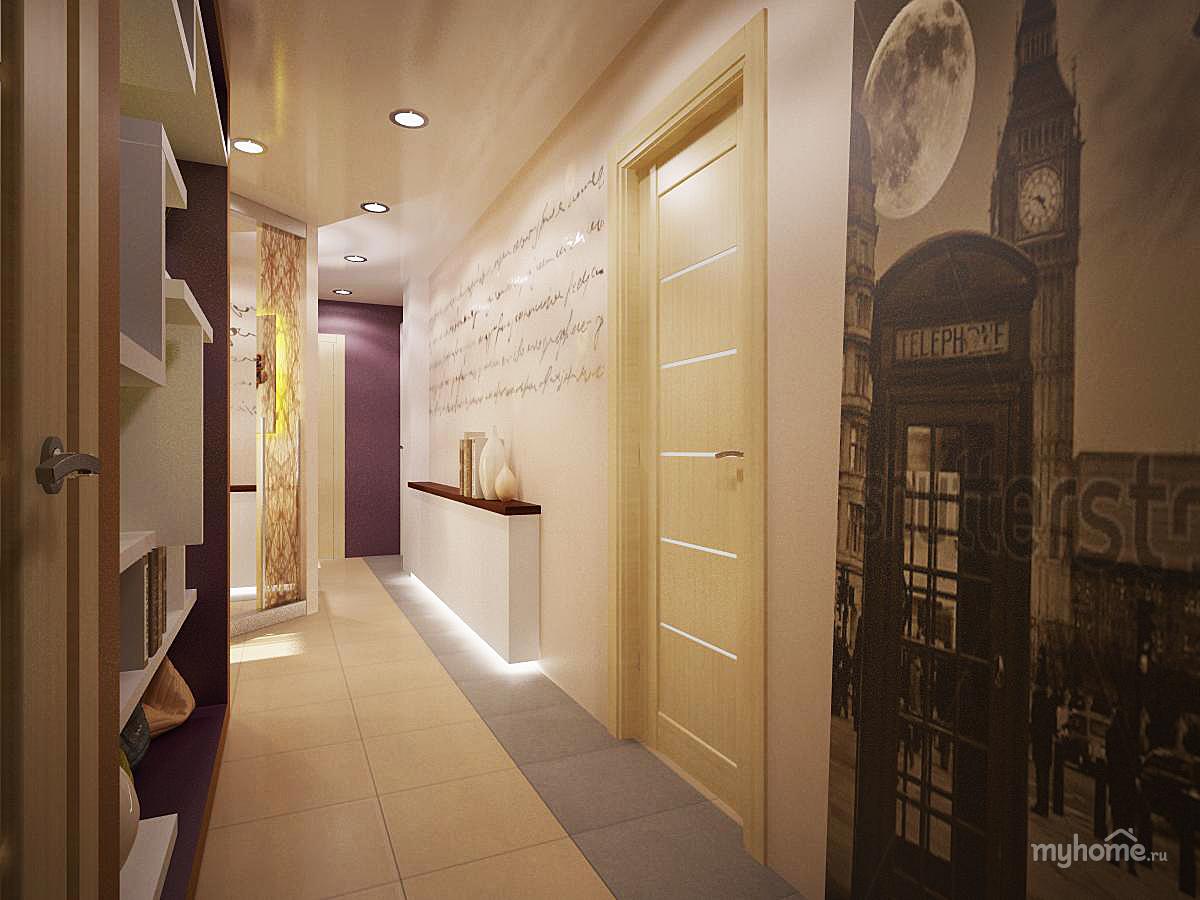 Идеи для ремонта длинного коридора в квартире фото