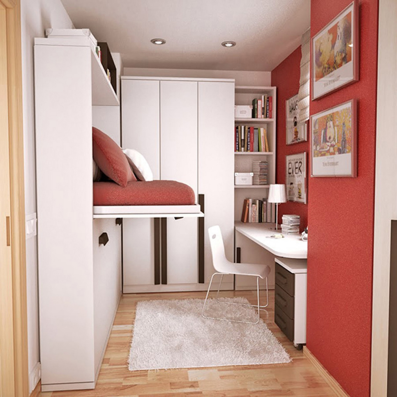 Как красиво сделать маленькую комнату
