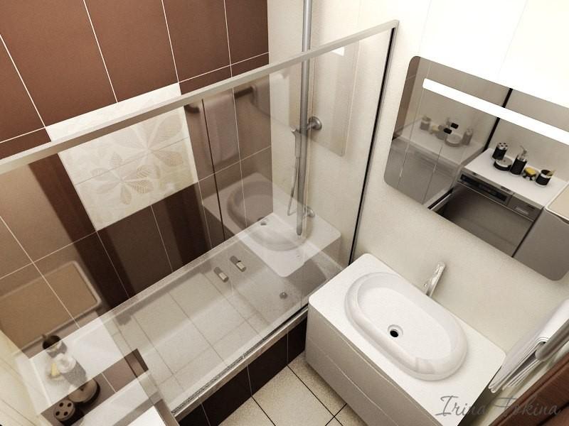 Дизайн ванны в однокомнатной квартире фото