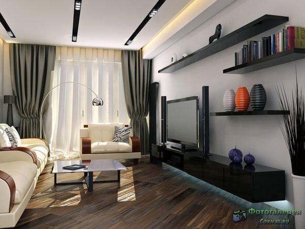 Дизайн комнаты гостиной 16 кв метров