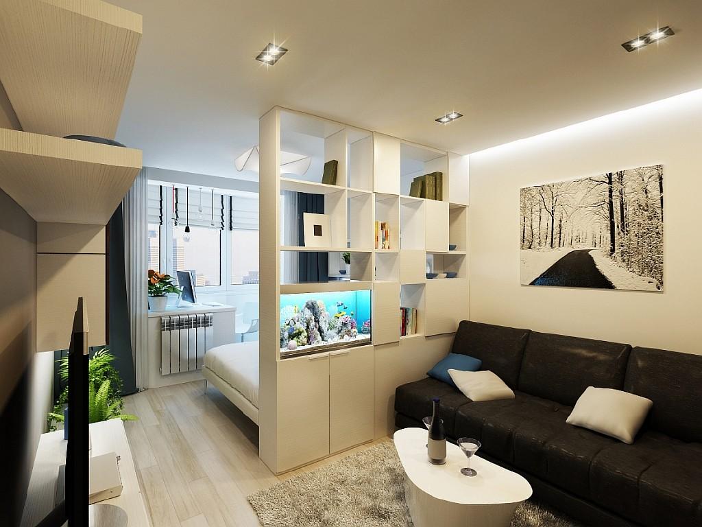 Проект дизайн маленькой гостиной