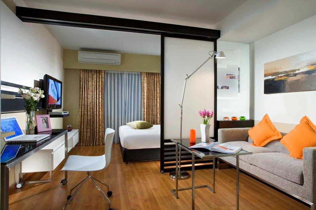 это дизайн комнаты спальна и гостиная в рдном производители могут учесть