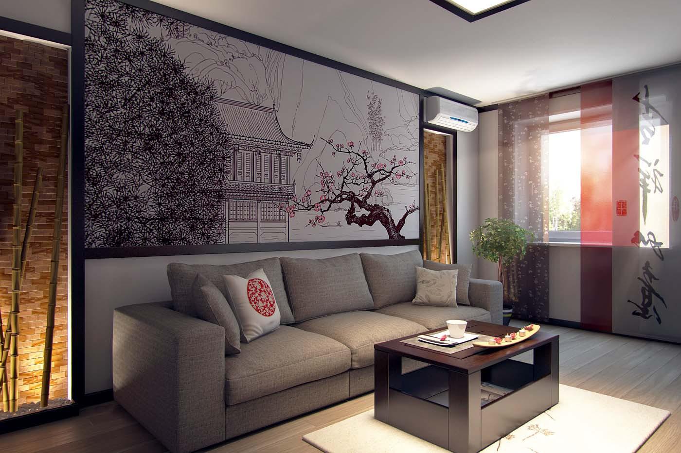 Дизайн квартиры японский стиль