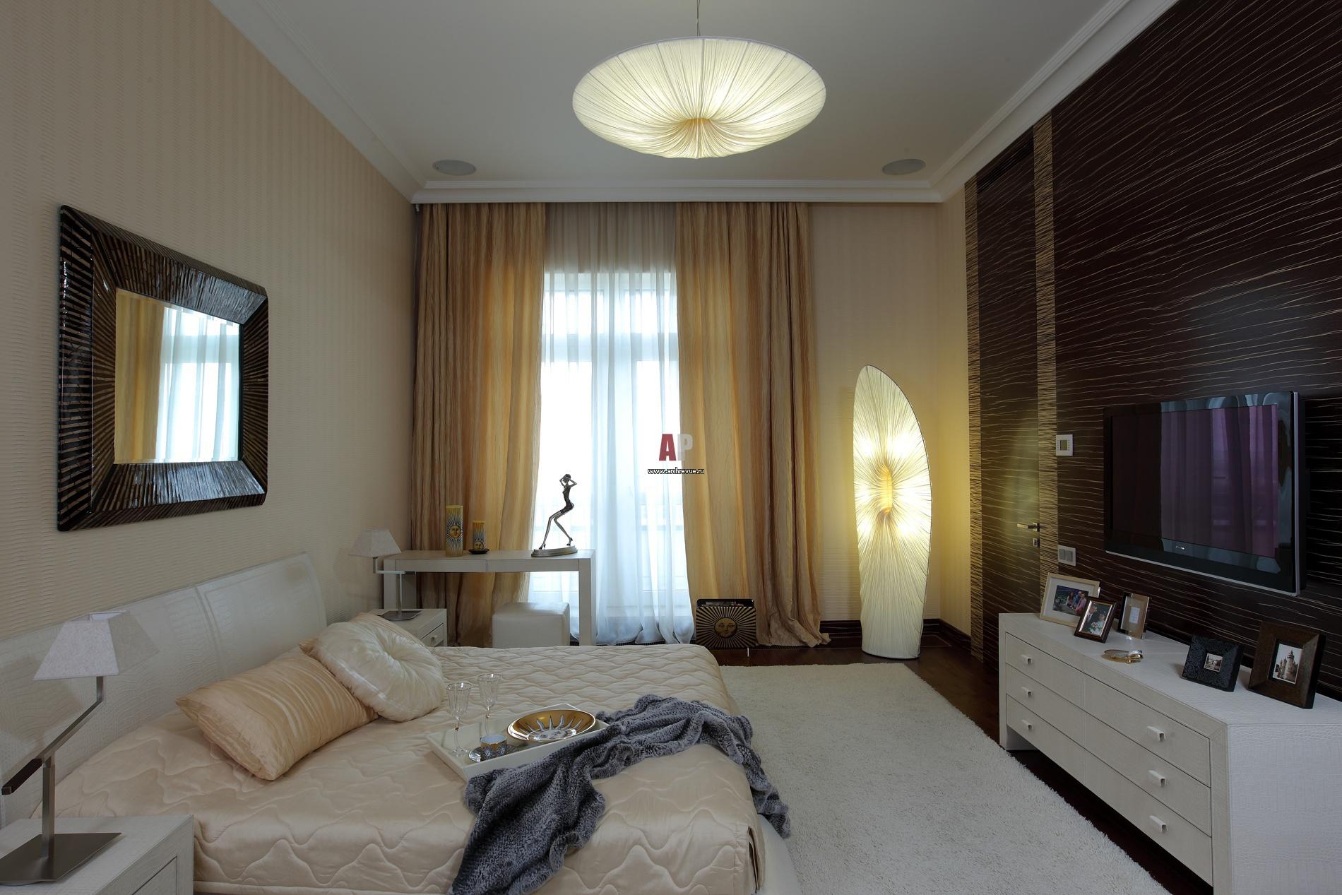 Дизайны спальной комнаты 16 кв.м