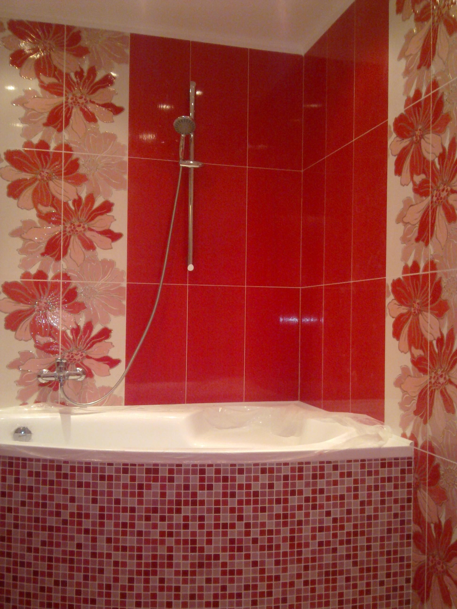 Ремонт в ванной с плиткой