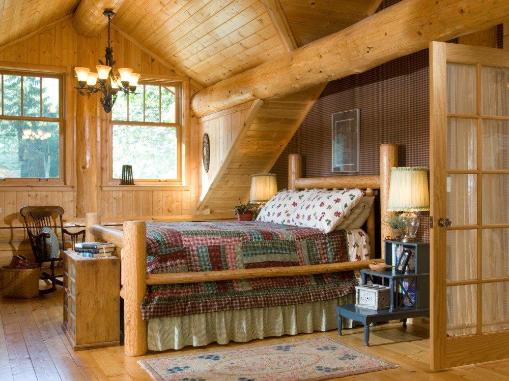 Деревенского дом планировка и дизайн интерьера