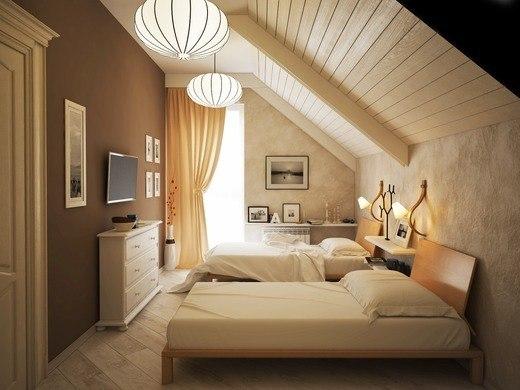 Дизайн комнаты для гостей в частном доме