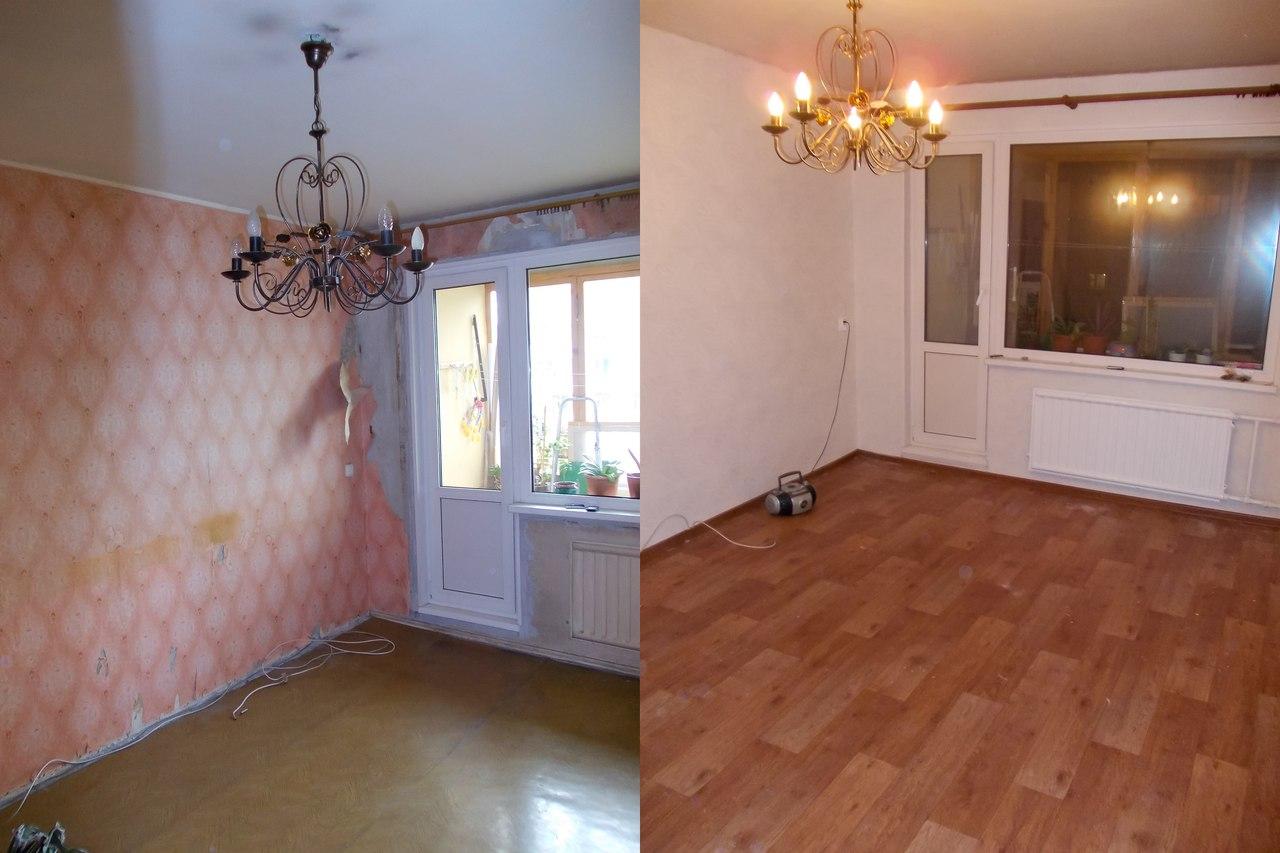 Фотоотчет о ремонте квартиры своими руками