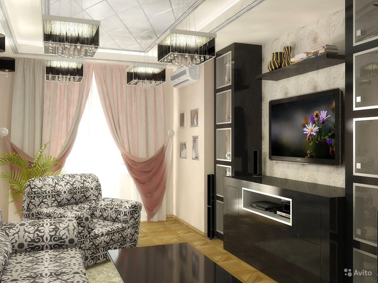 Дизайн небольшой гостиной в квартире