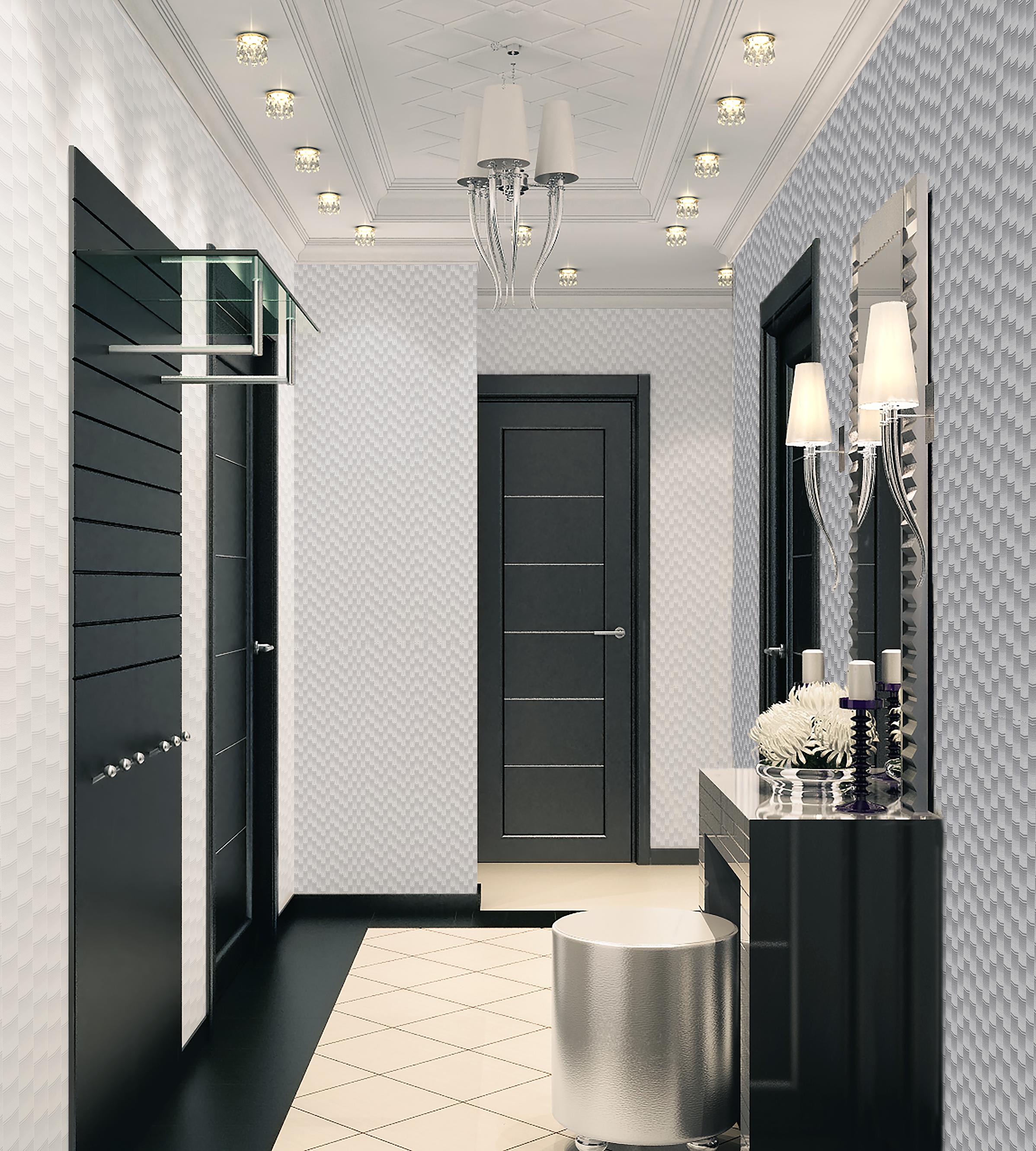 Дизайн коридора в квартире 2017-2018 современные идеи