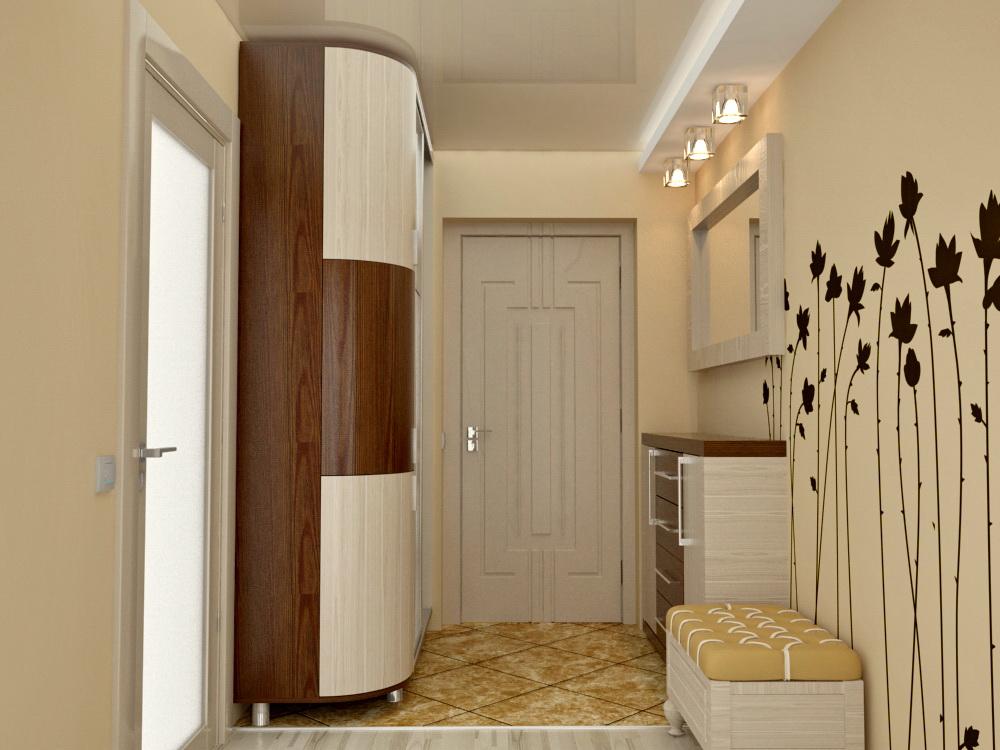 Дизайн прихожей в квартире маленькой площади