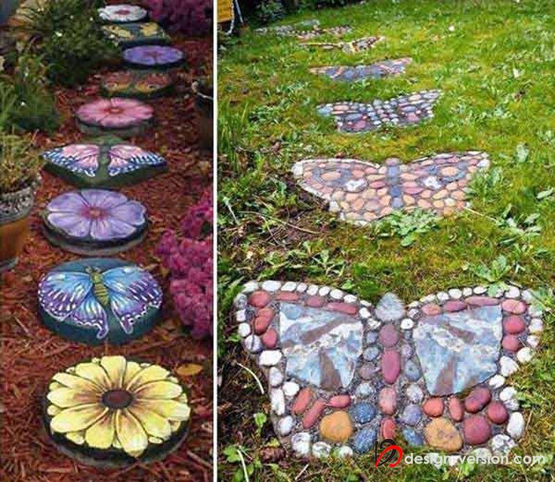 Идеи декора своими руками сада