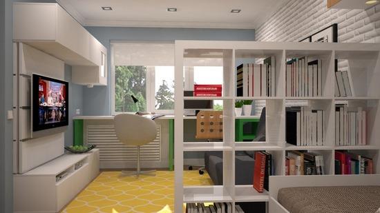 Дизайн квартиры хрущевки для семьи с ребенком