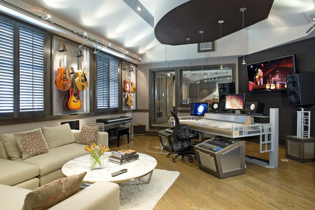 Дизайн дома-студии