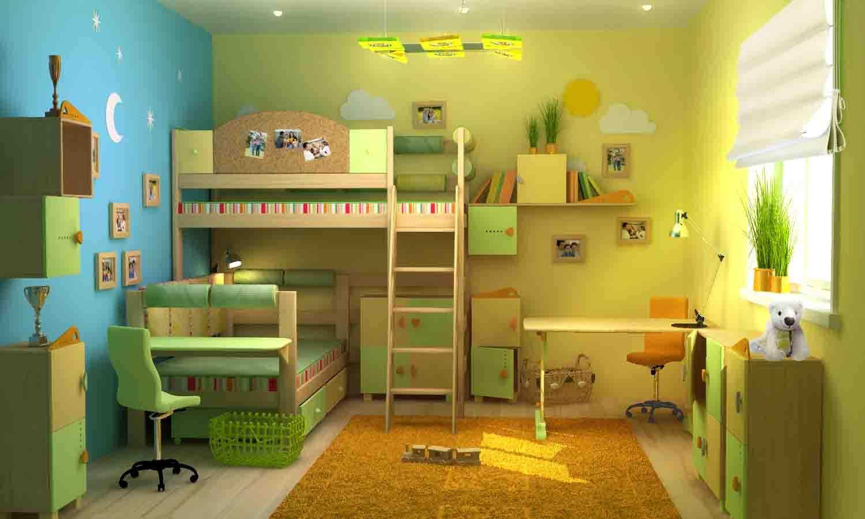 Дизайн маленьких детских комнат для разнополых детей